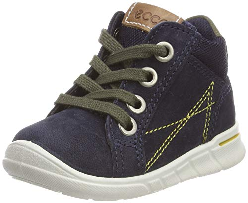 Ecco FIRST Hohe Sneaker Jungen, Blau (Night Sky 1303), 21 EU