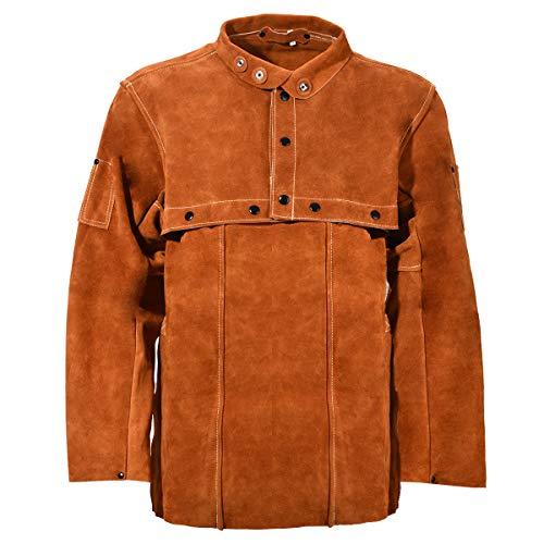 Leaseek Leather Welding Jacket