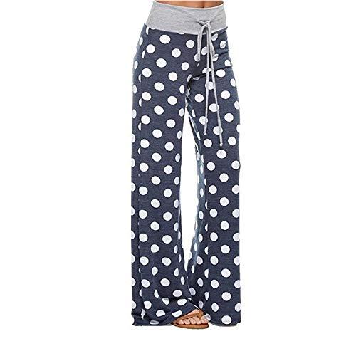 * Popular * Women's Big Polka Dot Drawstring Lounge Pants, other designs available