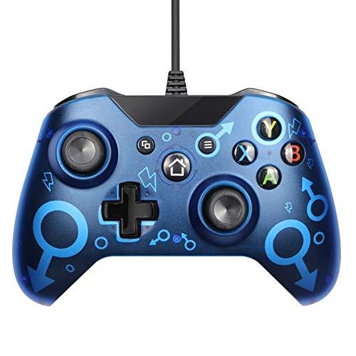 Joysticks con cable para Gamepad con doble vibración, consola de juegos con cable USB para PC, PS3, teléfonos Android, tabletas, TV Box, vapor