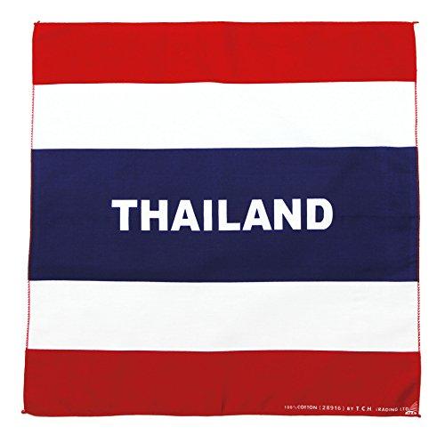 Tuch Serviette Drapeau Thaïlande Siam Foulard Bandana Collier Foulard env. 51 x 51 cm Imprimé D'un Seul Côté