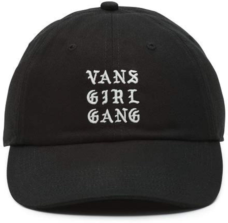 Vans Women's Girl Gang Court OG Hat Black White One-Size VN0A3MXXBLK
