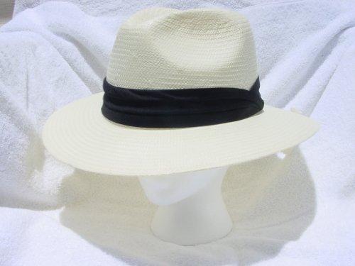 Men's Straw Fedora Golf Hat