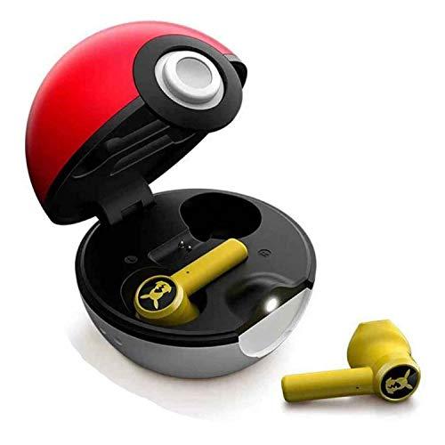 Juyuntong 2021 Nouveau Casque Bluetooth Pokemon - Écouteurs sans Fil avec Suppression du Bruit, Véritable Casque Bluetooth sans Fil, pour L'école à La Maison Ou en Voyage