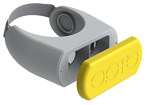 OPTO Air Virtual Reality Headset, Yellow