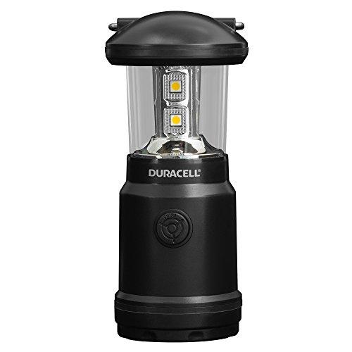 Duracell zaklamp, Explorer-lantaarnserie lantaarn-zaklamp, 90 lumen, LED-licht, zwart kunststofoppervlak, met Duracell batterijen