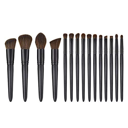 Cosanter Set de pinceaux de maquillage pour le visage poli noir Pinceaux Maquillage Cosmétique Brush Beauté Maquillage Brosse Makeup Brushes Tous Types de Maquillage