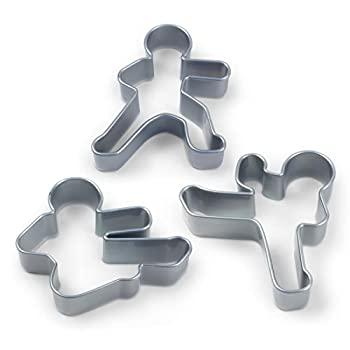 NINJABREAD MEN Cookie Cutters - Quirky Baking Gifts - Open for Christmas