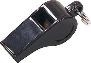 SELECT scheidsrechterfluitje plastic klein zwart