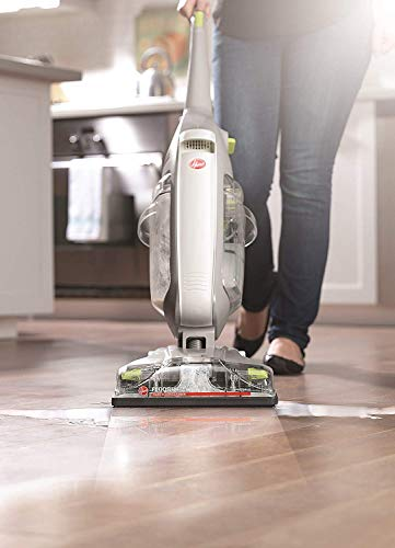 Hoover FH40160PC FloorMate Deluxe Hard Floor Cleaner, Wet Dry Vacuum, Silver