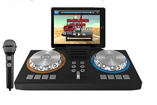 iDance - iDance XD101. Set de DJ. Mezclador con altavoz & micrófono, App para ios y android