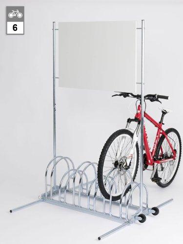 Werbe-Fahrradständer BW 5156 - 6 Einstellplätze