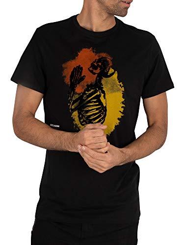 Religion de los Hombres Camiseta Splash, Negro