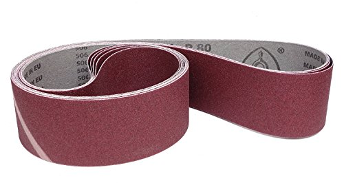 Klingspor LS 307 X Schleifband | 75 x 2000 mm | 5 Stück | Körnung: 40