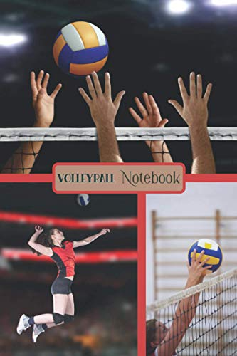 Volleyball Notebook: Funny Volleyball Notebook | Logbook for Beach Lovers | Cute Lines Journal | Lined paper For Sport Lover | For Journaling | Note ... and Kids | Nice Christmas or Birthday Present