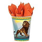 Bicchieri di carta per feste 'Disney il re leone', 9 g, 8 ct.