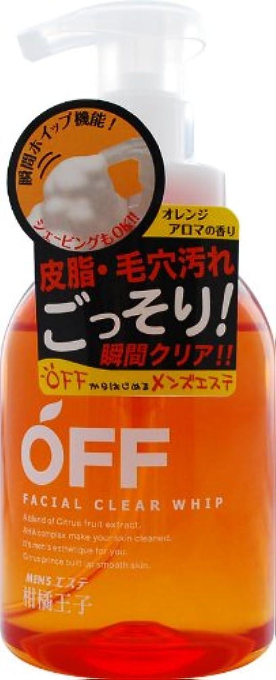 利用可能傭兵笑い柑橘王子 フェイシャルクリアホイップN 360ML