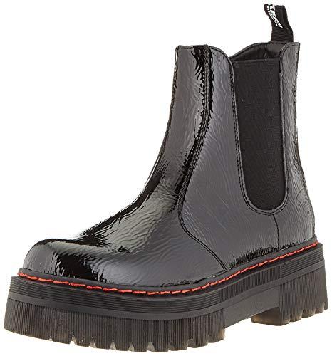 Dockers by Gerli Damen Madison Mode-Stiefel, schwarz, 37 EU