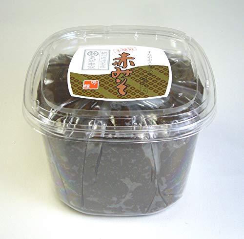 赤みそ 950gカップ 国産原料使用・無添加☆長期熟成☆まろやかな麦入赤味噌