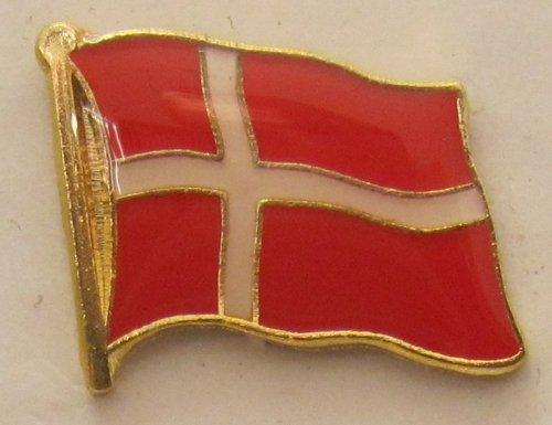 Pin Anstecker Flagge Fahne Dänemark Nationalflagge Flaggenpin Badge Button Flaggen Clip Anstecknadel