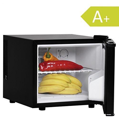 FineBuy Mini Kühlschrank 17 Liter/Minibar schwarz/Getränkekühlschrank 5° bis 15°C (EEK: A+)