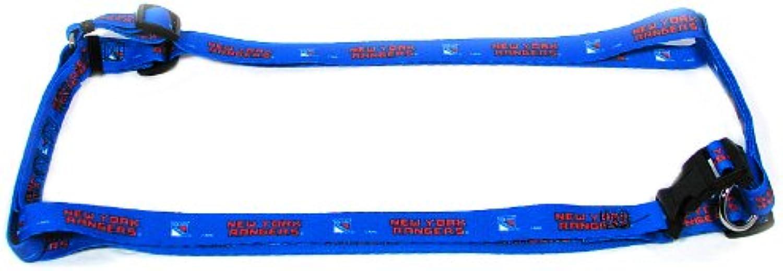 Hunter MFG 5 8Inch New York Rangers Adjustable Harness, XSmall