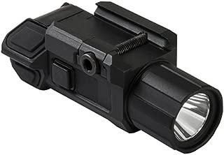 NC Star VAPTF Pistol Flashlight with Strobe, 3 W Ultra Bright, 200 lm, Strobe