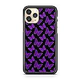 Pretty Majestic Coque de protection pour Huawei P10 Lite Motif papillons Violet