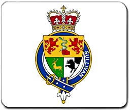 Sullivan Family Crest Coat of Arms Mouse Pad