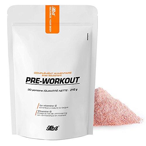 Pre-Workout * 30 Portionen / 210 g * L-Citrulline, Beta-Alanin, Himbeere, Guarana, Acerola, Rhodiola, Bierheber, Traubenkerne* Energie (Fatig)