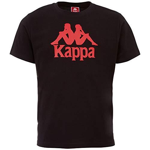 Kappa Herren Authentic CASPAR T-Shirt, Black, XXL