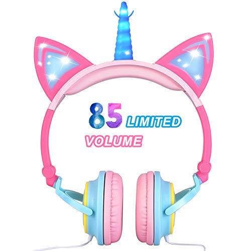 (Kupon DISKON 20%) Headphone Unicorn Anak-Anak $ 14,39
