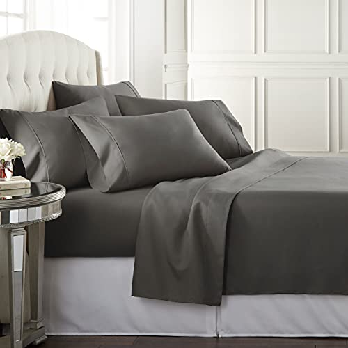 Danjor Linens Queen Size Bed Sheets Set - 1800 Series 6 Piece Bedding...