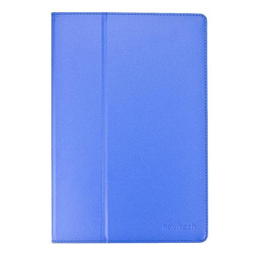 Navitech Blaues bycast Leder Case/Cover für das MEDION LIFETAB S10346 (MD 98992) 25,7 cm/10,1