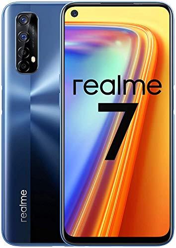 Realme 7 - Smartphone 64GB, 6GB RAM, Dual SIM, Mist Blue