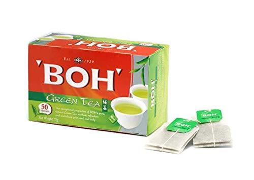 BOH Grüner Tee in 50 Teebeutel aus Malaysia