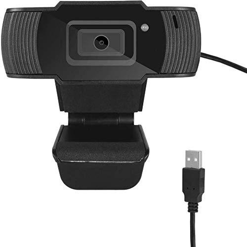Cámara web 1080P portátil portátil USB Driverfree Webcam con micrófono para teleconferencia en vivo