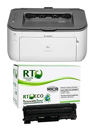 Renewable Toner ImageClass LBP6230dw MICR Printer Bundle with CRG 126 MICR Toner Cartridge
