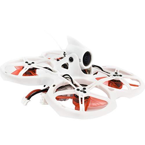 Sixcup EMAX Tinyhawk Quadrocopter Drohne 2 BNF FRSKY 1-2s LED 200mW 16000kv Runcam Nano 2 Kamera 4 In 1 5A BlHeli_S ESC Racing FPV Drohne (Weiß)