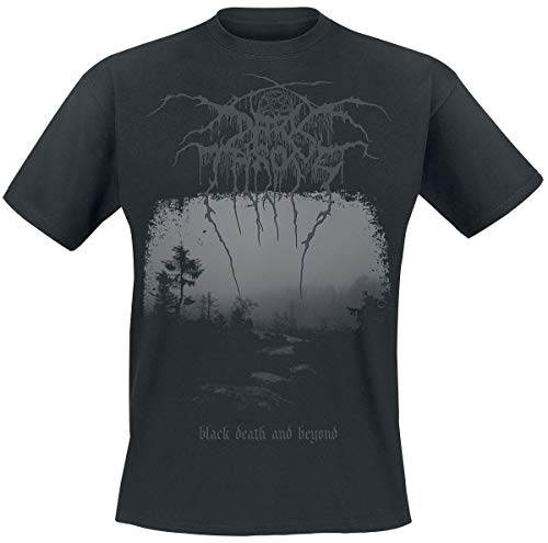Darkthrone Black Death and Beyond Männer T-Shirt schwarz S 100% Baumwolle Band-Merch, Bands