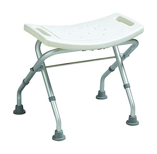 YIQIFEI Bügelstehhilfe Sitzkissen Haushaltsklappverdickte Sicherheit Kleiner Stuhl Stabilität Duschsitz Sturzprävention in der Badewanne für Senioren zur Wie