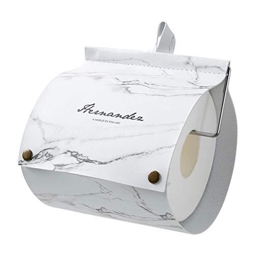 Portarrollos Creativa del papel higiénico del titular de perforación Sin rollo de tejido Plataforma de almacenamiento en rack toalla de cocina en rack de almacenamiento de papel higiénico portarrollos