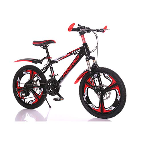 LEL 20-Inch Road Bikes Shock Absorption Dual Ddisc Boy Student Girl Outdoors Sport Exercise Bicycle 7 Speed