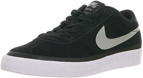 Nike Bruin SB Premium SE, Scarpe da Skateboard Uomo, Nero/Grigio/Bianco, 40 EU
