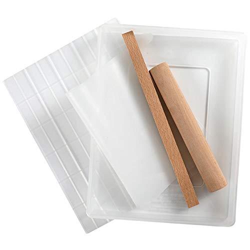 Set Di Strumenti Per Stampi Per Torrone Fatti A Mano Fai-da-te, Strumenti Multifunzionali Per La Cottura In Silicone Antiaderente Per Caramelle Al Latte Al Cioccolato (B)