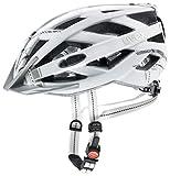 Uvex City I-Vo Casco de Ciclismo, Unisex Adulto, White Mat, 56-60 cm