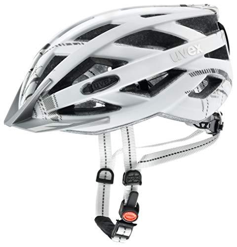 Uvex Unisex– Erwachsene, city i-vo Fahrradhelm, white mat, 56-60 cm