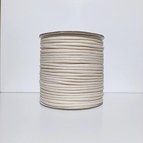 AUBERSIT Hilo de macramé Colorido, Cuerda de Hilo de Tejido de Hilo de algodón Natural Hecho a...