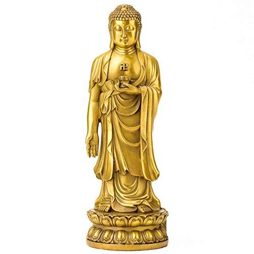 Individualität Buddha-Statuen, Sakyamuni-Skulpturen Buddhistische Opfergaben Thailändische Buddha-Statuen Religiöses Zen liefert vergoldetes Gold