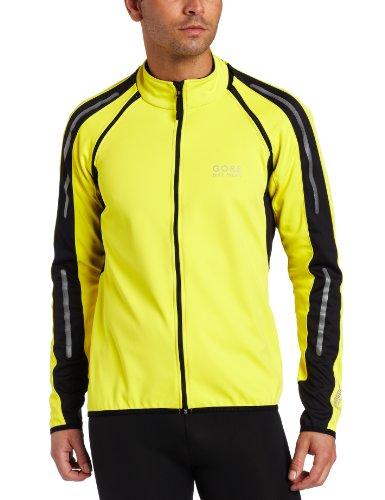 Gore Men's Phantom Jacket, Lemon/Black, Medium